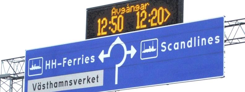 VMS och trafikinformation Image